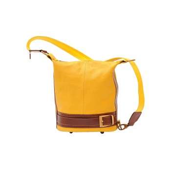 Bucket Backpack Purse Transformable in Bucketbag